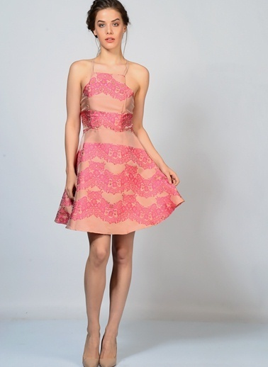 Glamorous Elbise Renkli